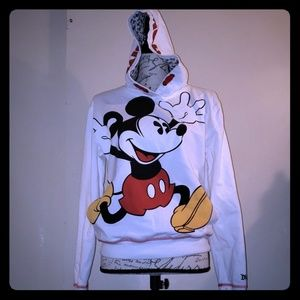 NWOT AUTHENTIC mickey mouse hoodie